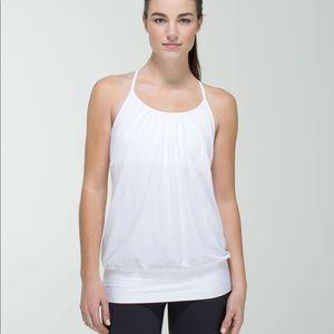 Lululemon No Limits Tank NWT Size 4 All White